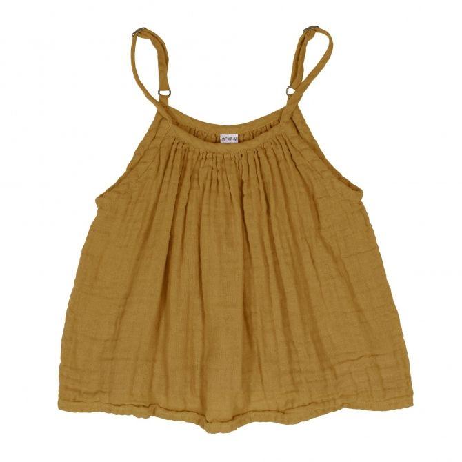 Bluzka dziecięca Mia musztardowa - Numero 74