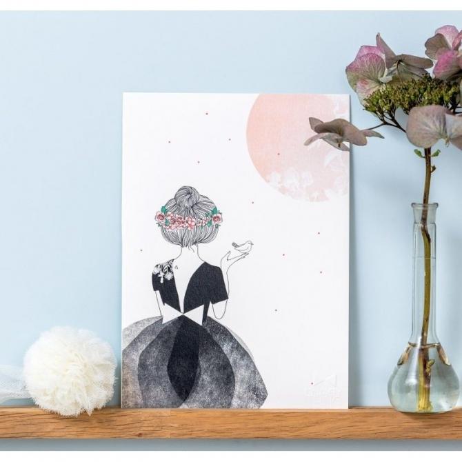 Plakat La danseuse et l'oiseau - My Lovely Thing