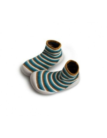 Slipper Socks Indian Lines stripes - Collégien