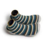 Slipper Socks Indian Lines stripes