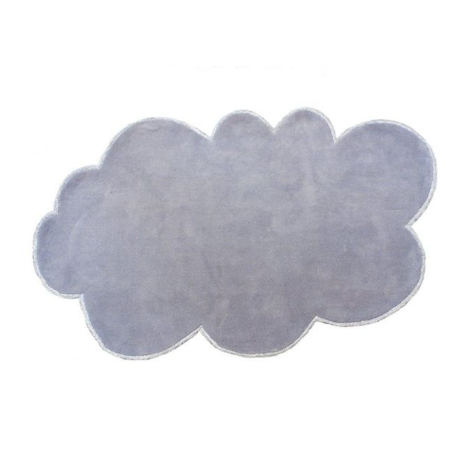 little P Rug Silver Lining Cloud cloudy