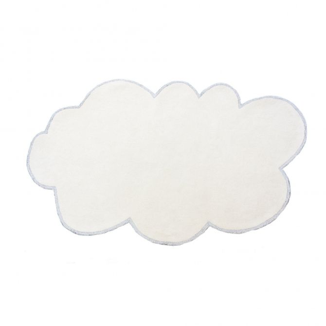 little P Rug Silver Lining Cloud vanillia