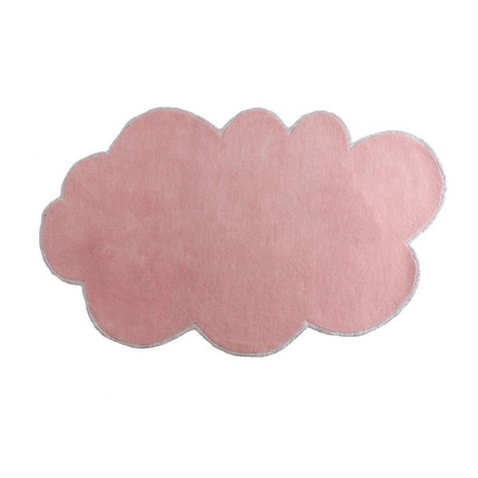 Rug Silver Lining Cloud Blossom rose - little P
