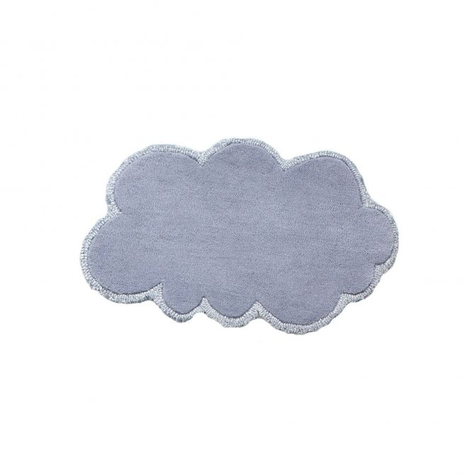 Dywan Silver Lining Cloud Mini Doll szaroniebieski - little P