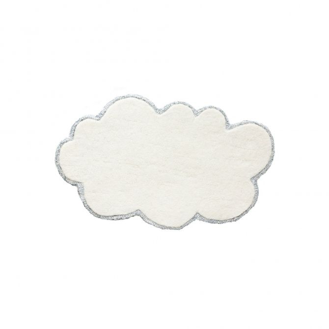 little P Rug Silver Lining Cloud Mini Doll vanilla