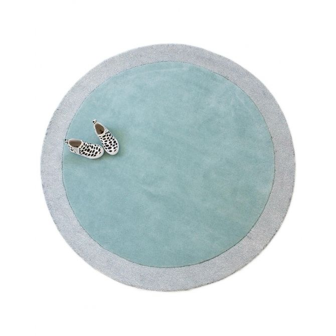 Rug Silver Moon icy blue - little P