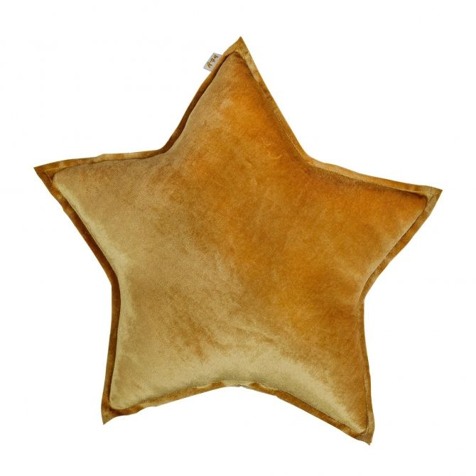 Numero 74 Star Velvet Cushion gold