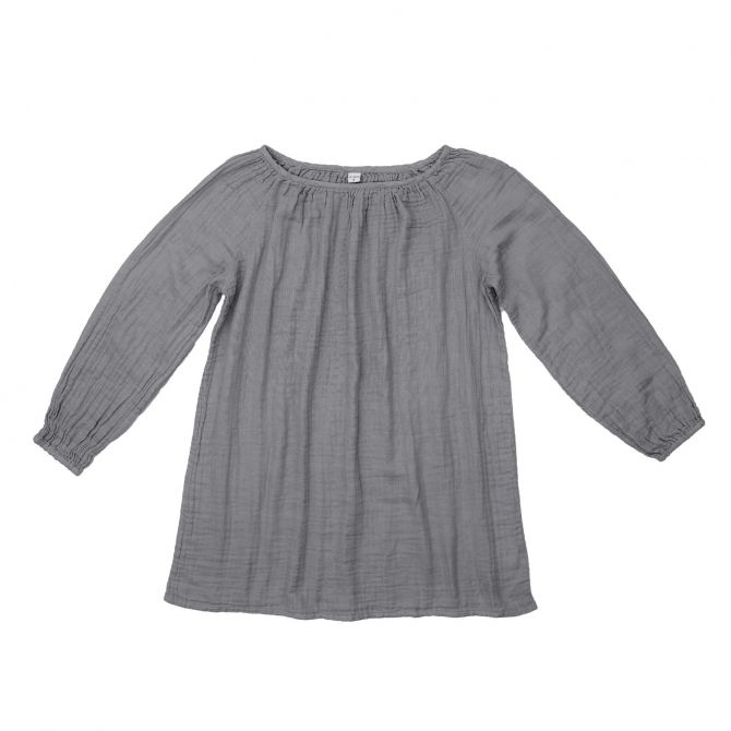 Numero 74 Tunic for mum Nina stone grey