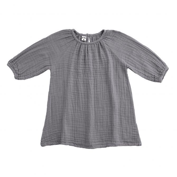 Dress Nina stone grey - Numero 74
