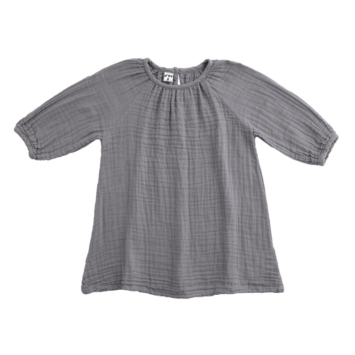 Numero 74 Dress Nina stone grey