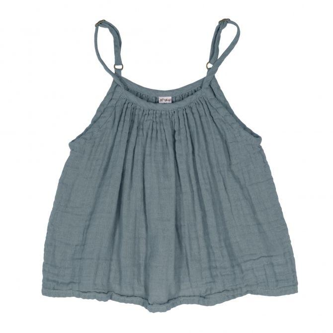 Bluzka dziecięca Mia szaroniebieska - Numero 74