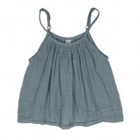 Bluzka dziecięca Mia szaroniebieska