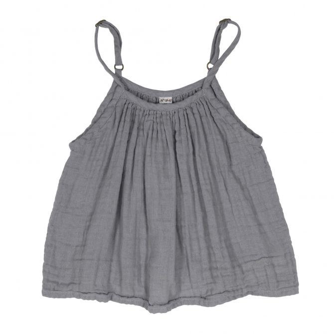 Bluzka dziecięca Mia kamienny szary - Numero 74