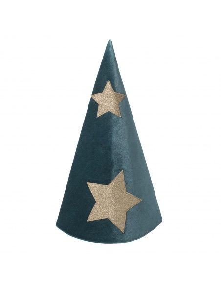 Hat Merlino teal blue - Numero 74
