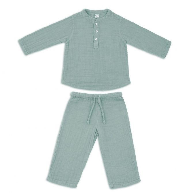 Suit Dan shirt & pants sweet blue - Numero 74