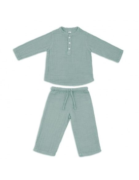Numero 74 Suit Dan shirt & pants sweet blue