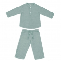 Suit Dan shirt & pants sweet blue