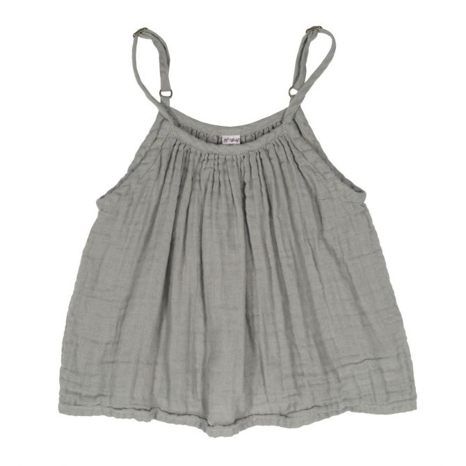 Top Kid Mia silver grey - Numero 74