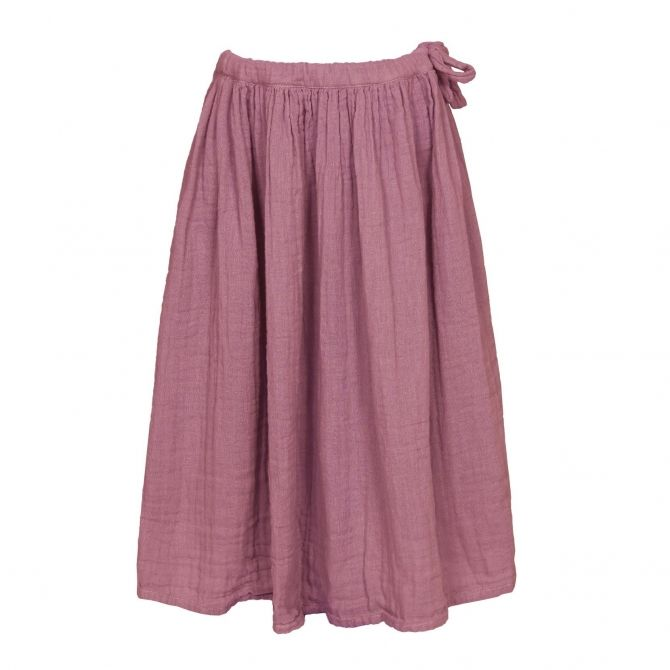 Skirt for girls Ava long baobab rose - Numero 74