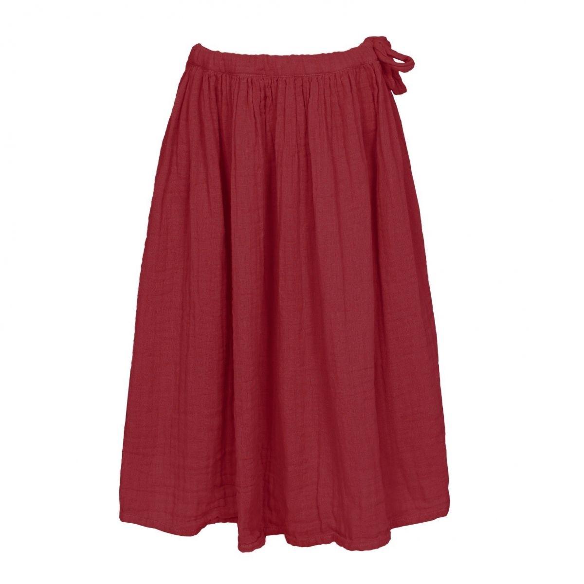 Skirt for girls Ava long ruby red - Numero 74