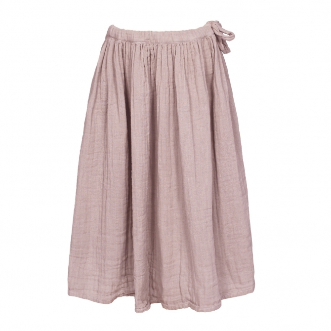 Skirt for girls Ava long dusty pink - Numero 74