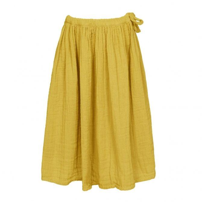 Spódnica dla dziewczynek Ava długa słonecznie żółta - Numero 74