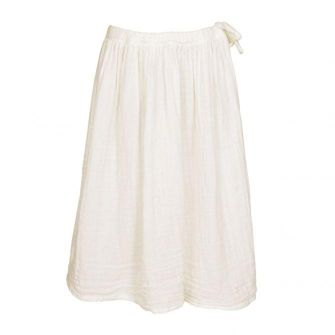 Spódnica dla dziewczynek Ava długa waniliowa - Numero 74