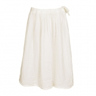 Skirt for girls Ava long natural
