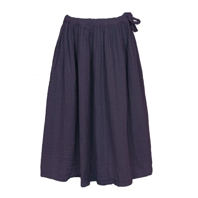 Numero 74 Skirt for girls Ava long sweet aubergine