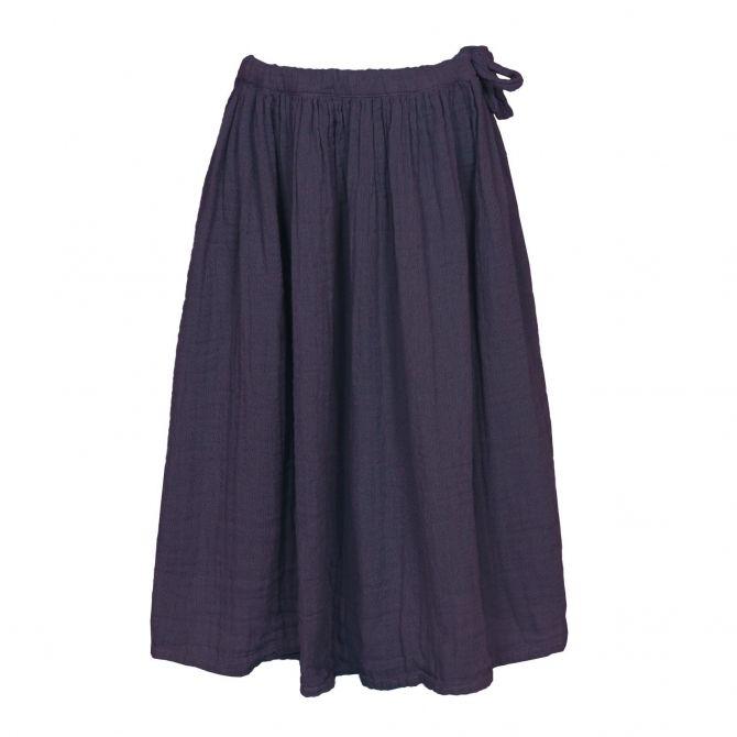 Numero 74 Spódnica dla dziewczynek Ava długa oberżyna