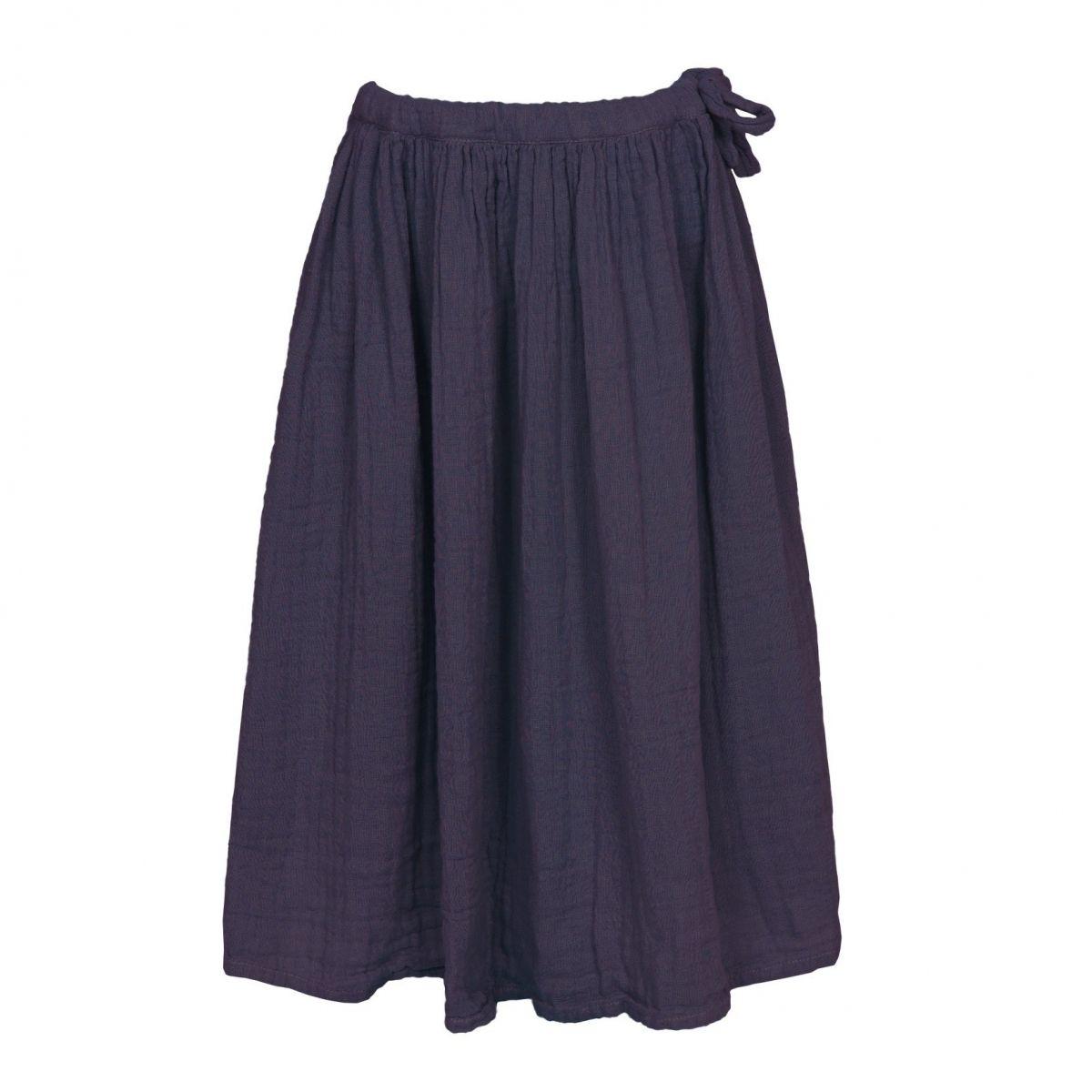 Skirt for girls Ava long sweet aubergine - Numero 74