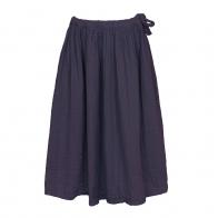 Skirt for girls Ava long sweet aubergine