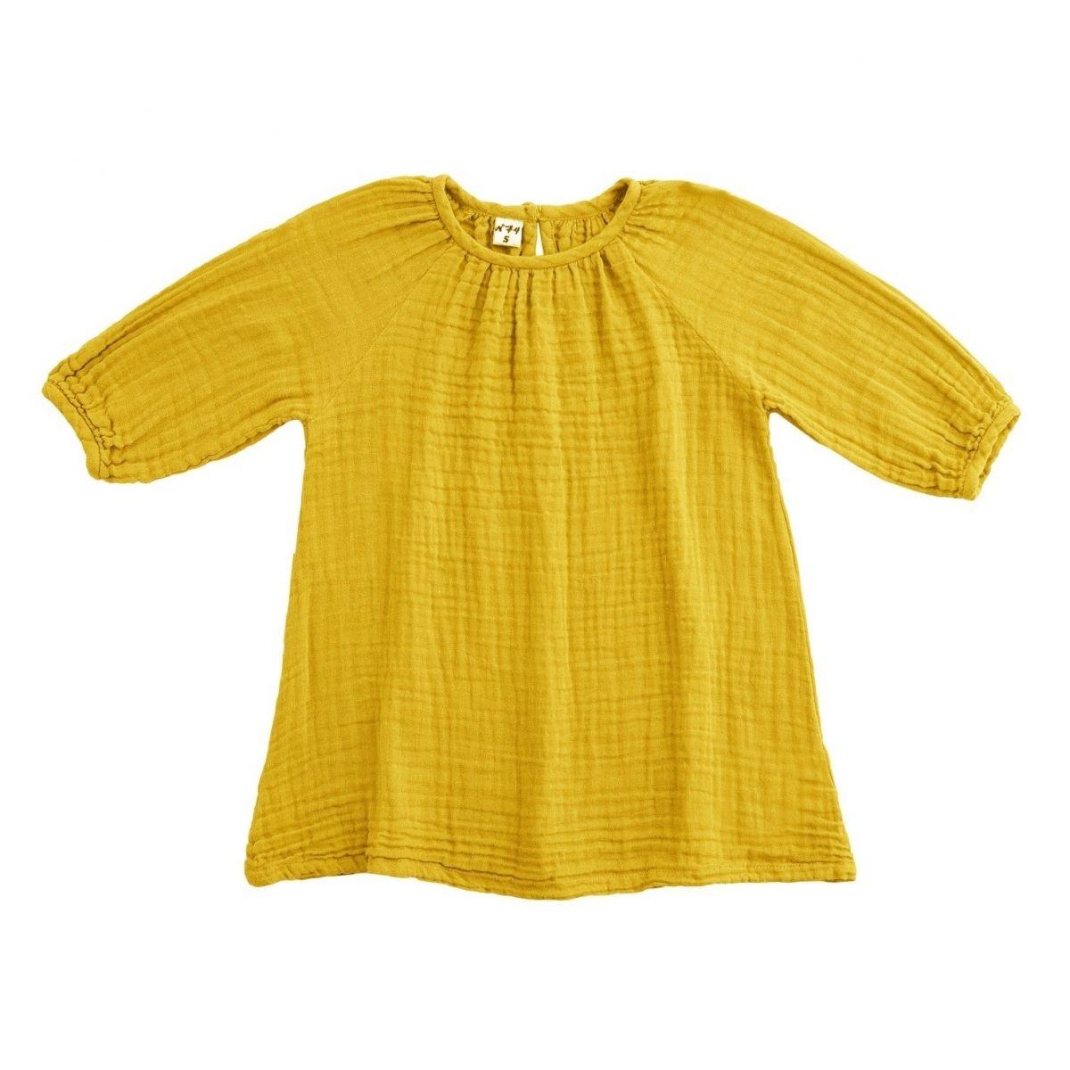 Dress Nina sunflower yellow - Numero 74