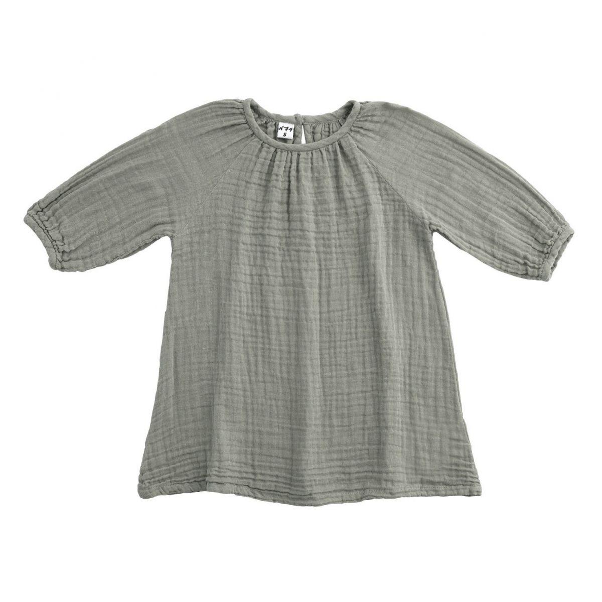 Numero 74 Dress Nina silver grey