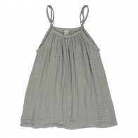 Dress Mia silver grey