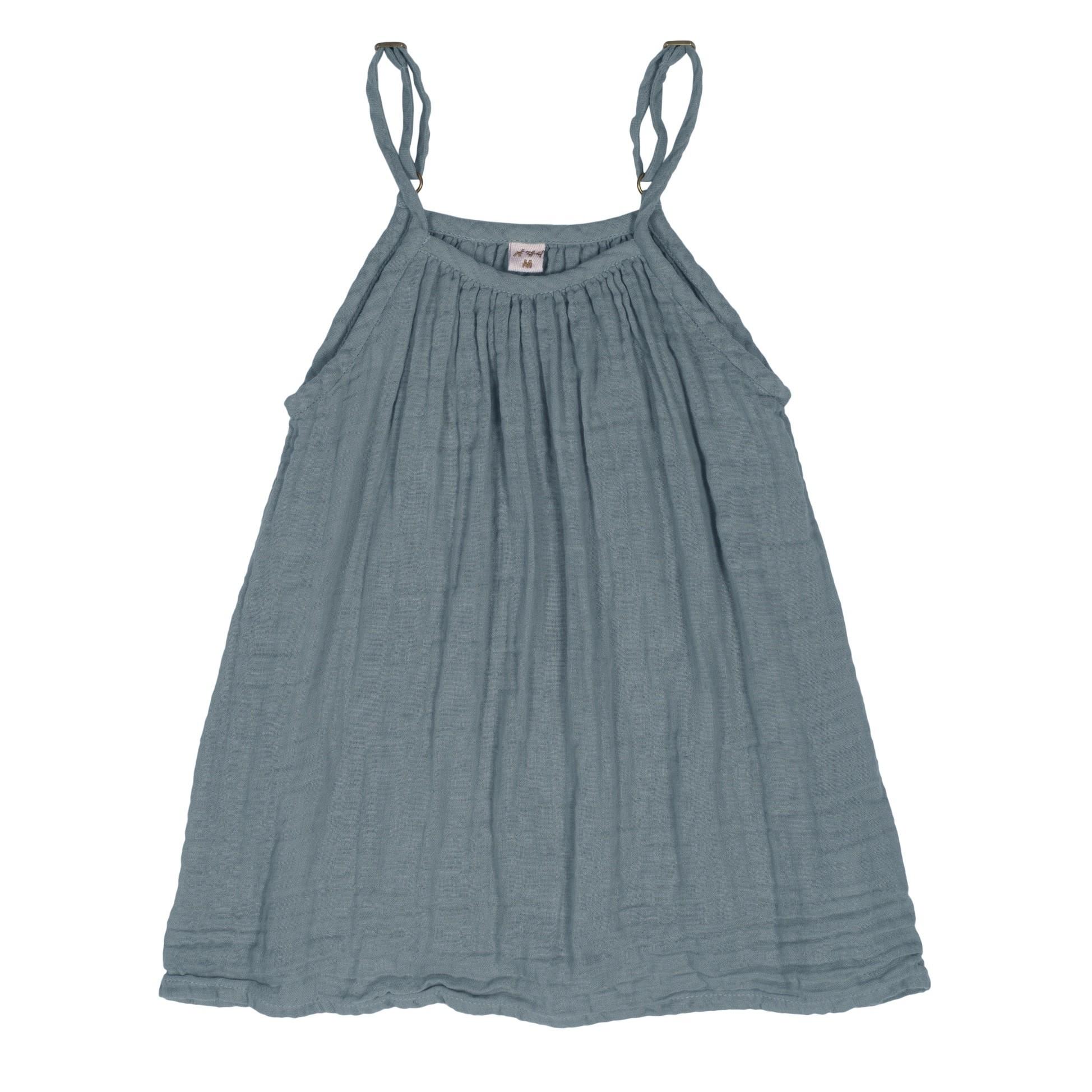 Sukienka Mia szaroniebieska