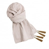 Scarf pastel powder