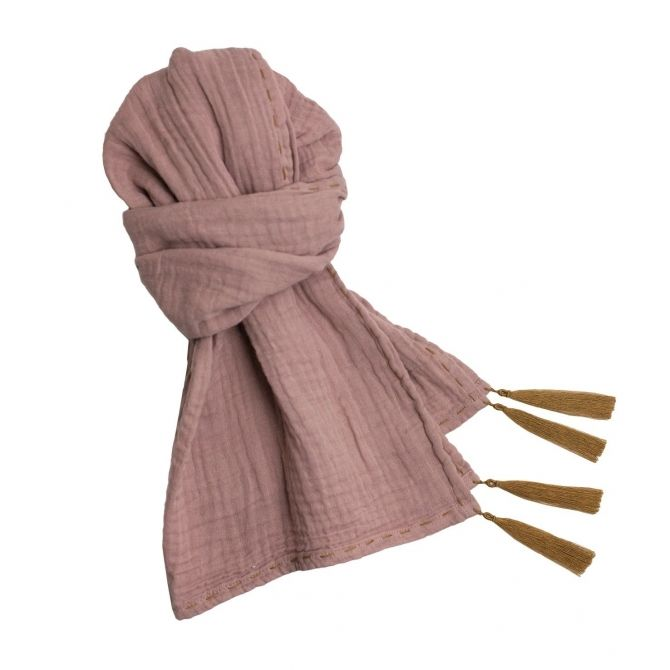 Numero 74 Scarf pastel dusty pink