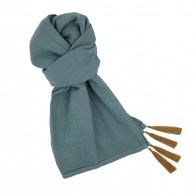 Scarf pastel ice blue