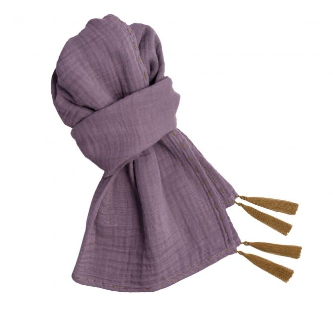 Scarf flashy dusty lilac - Numero 74