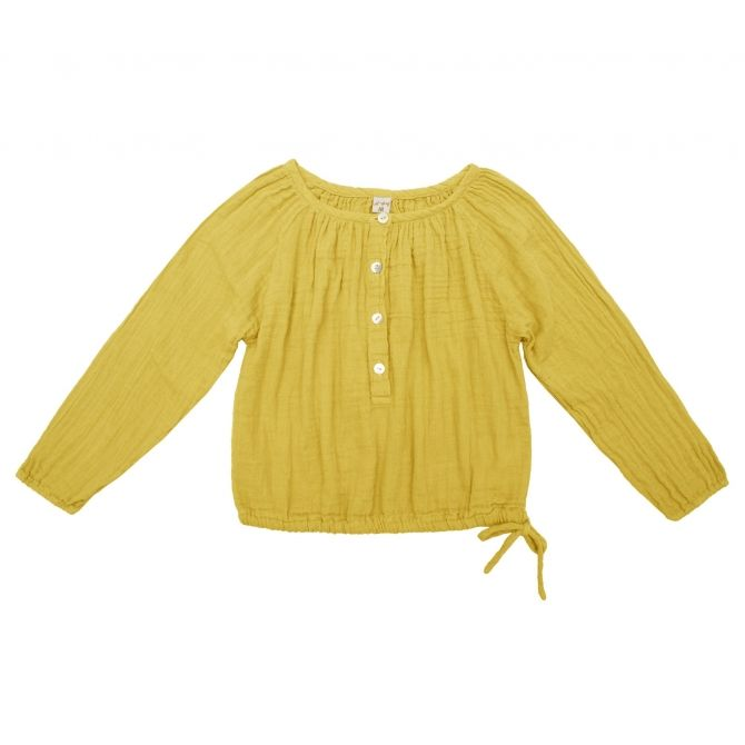 Shirt Naia sunflower yellow - Numero 74