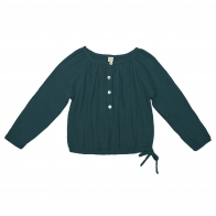 Shirt Naia teal blue