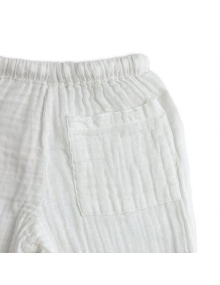 Komplet Dan koszulka & spodnie biały - Numero 74