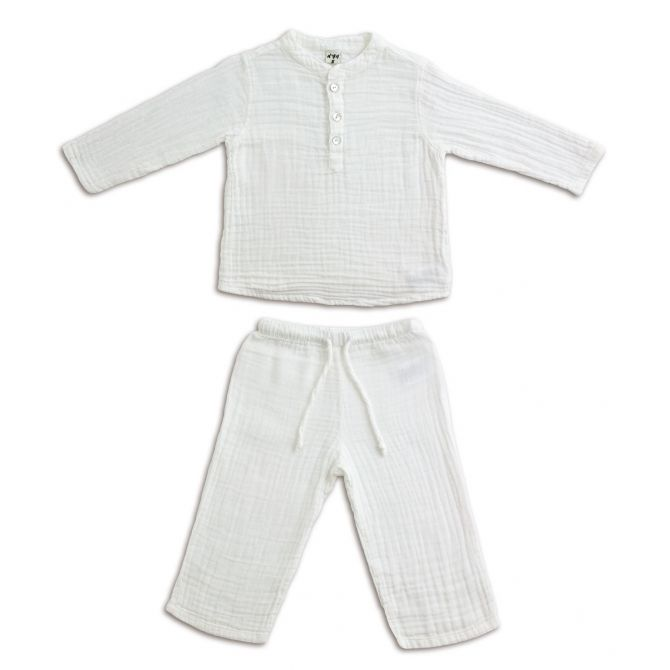 Numero 74 Suit Dan shirt & pants white