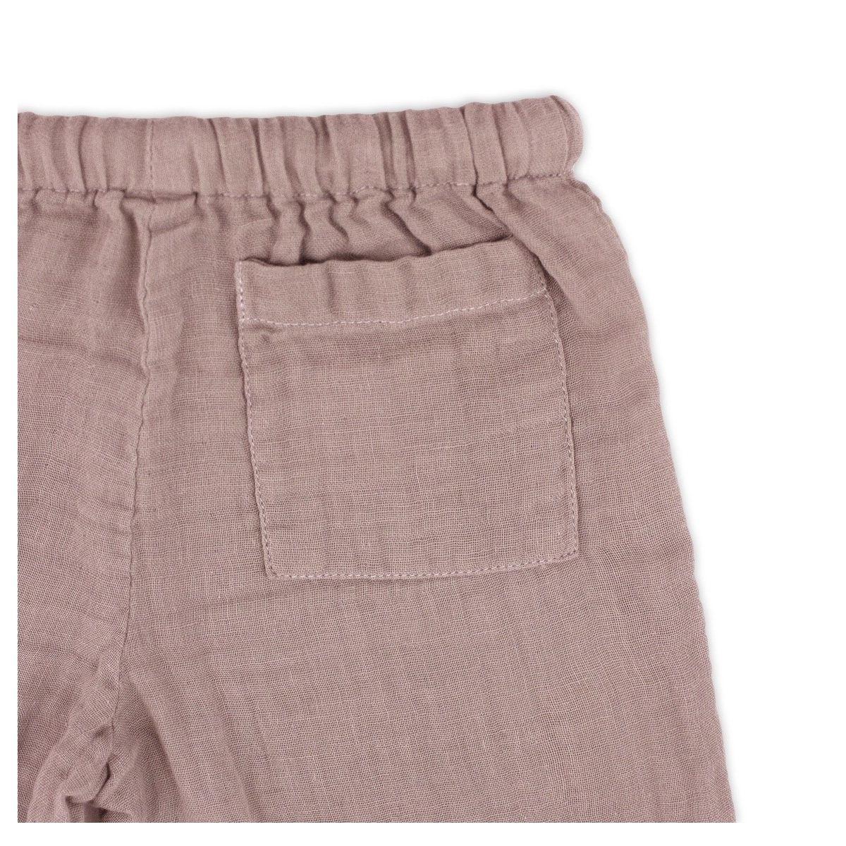 Suit Dan shirt & pants dusty pink - Numero 74