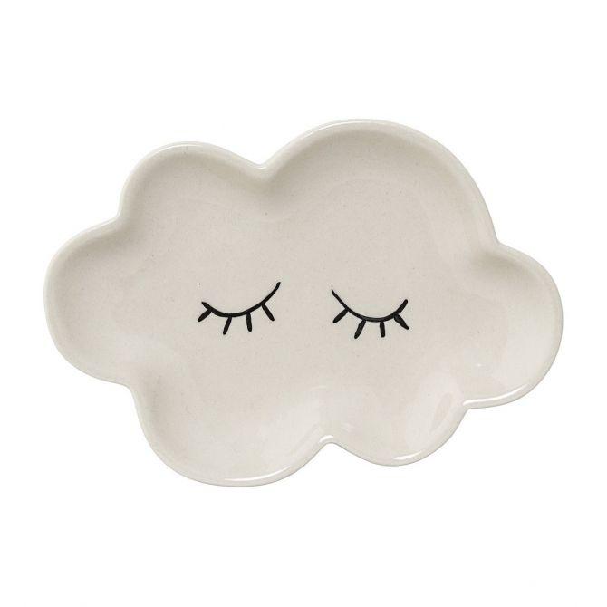 Talerzyk chmurka Smilla biały - Bloomingville