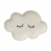 Plate Cloud Smilla white