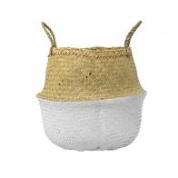 Koszyk Trawa Morska biały