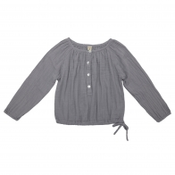 Shirt mum Naia stone grey