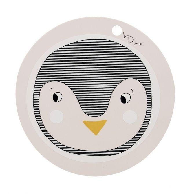 Podkładka pod talerz Pingwin - OYOY